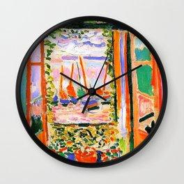 Henri Matisse Open Window Wall Clock