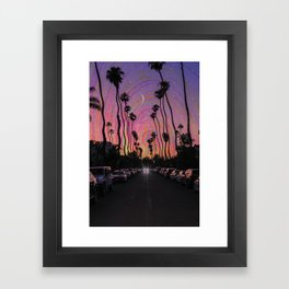 LA Vibes Framed Art Print