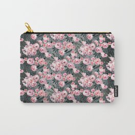 Night Rose Garden Pattern Carry-All Pouch