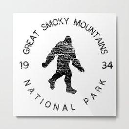 Great Smoky Mountains National Park Sasquatch Metal Print