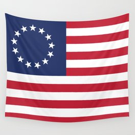 Betsy Ross flag of the USA Wall Tapestry