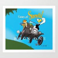 Tales of Strewth! Art Print