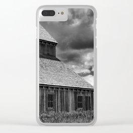 Historic Tate Barn Clear iPhone Case