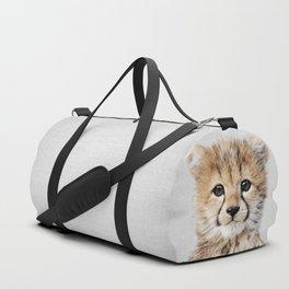 Baby Cheetah - Colorful Duffle Bag