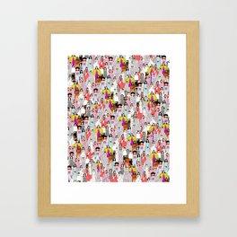 Bjork-A-thon Framed Art Print