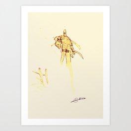 #coffeemonsters 232 Art Print