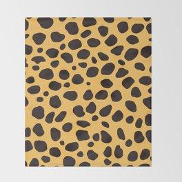 Cheetah Pattern_A Throw Blanket