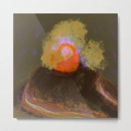 Nameless Monster as Beautiful as Destroyer, Volcano on La Palma, 3 Metal Print
