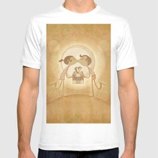 Beso2 MEDIUM Mens Fitted Tee White