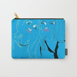 Blue Girls Carry-All Pouch
