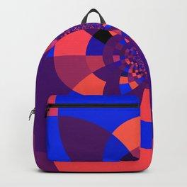 Kaleidoscope Purple Melon Cobalt Blue Backpack
