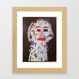 Blue Man..... Framed Art Print