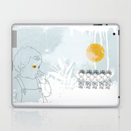 Late Afternoon (in Lady Cottington's Garden) Laptop & iPad Skin