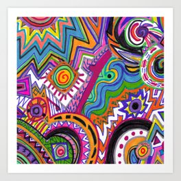 Abstract Art Art Print