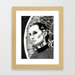 Cara Gee Framed Art Print