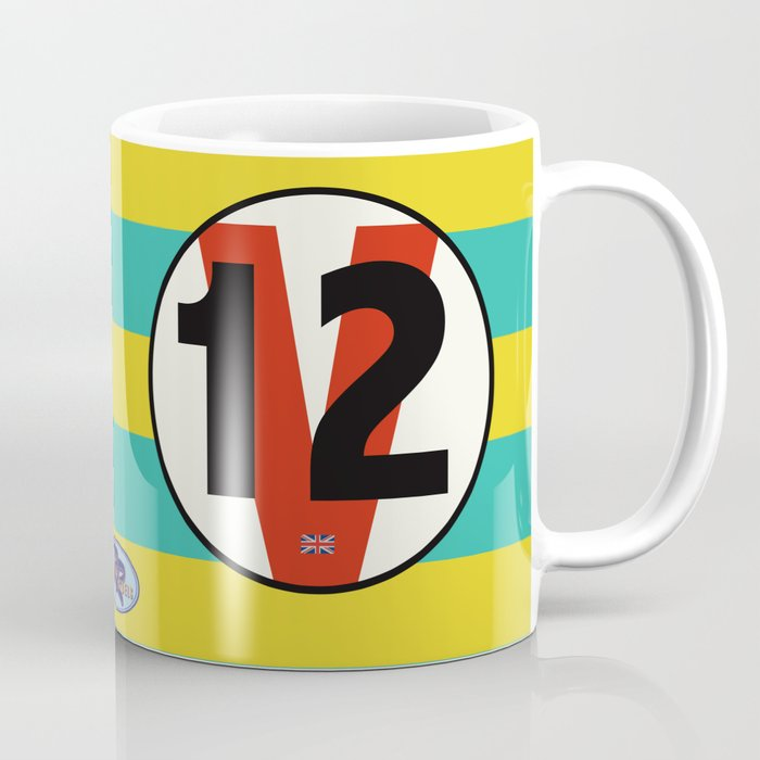 SRC Preparations Racecar Rebels: V12 British Coffee Mug