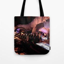 Mixing Hands Tote Bag