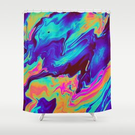 RIPTIDE Shower Curtain