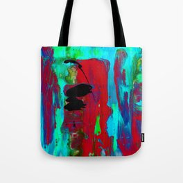 Abstraction Wonder No.2g by Kathy Morton Stanion Tote Bag