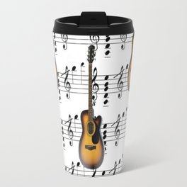 Dancing Guitars Travel Mug