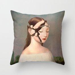 Distant Memory Throw Pillow