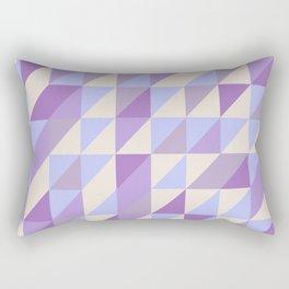 Purple n Hashed Rectangular Pillow