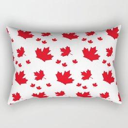 Canada Maple Leaf-Large-White Rectangular Pillow