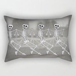 Dancing skeletons I Rectangular Pillow