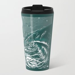 Dream Wave Zentangle Travel Mug