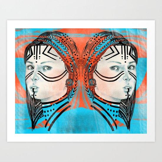Sisters IX Art Print