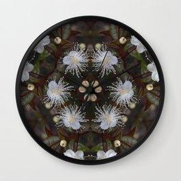 Ramarama : Bubble leaf : New Zealand Endemic Wall Clock