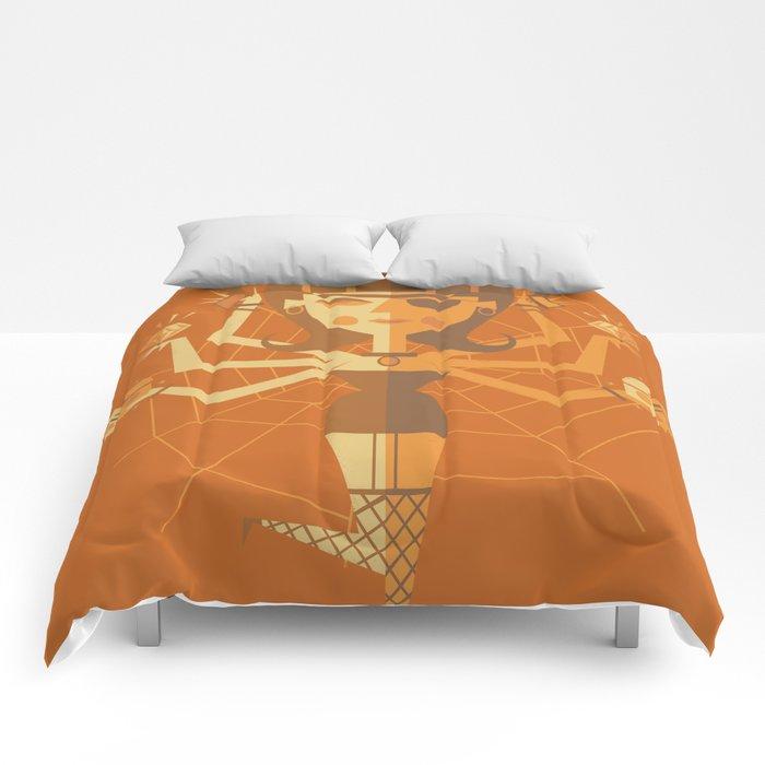 The Black Widow Comforters