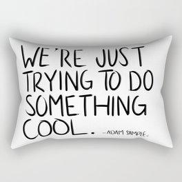 Something Cool Rectangular Pillow