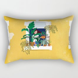Lisbon girl Rectangular Pillow