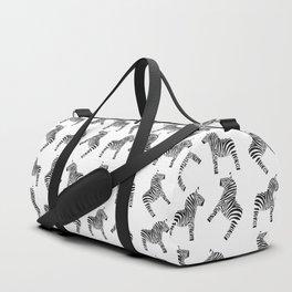 Dala Zebra Duffle Bag