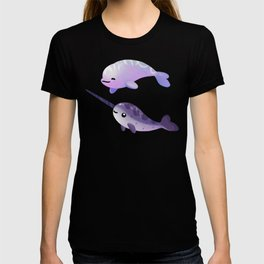 Beluga and Narwhal T-shirt
