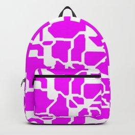 series in pink B Backpack