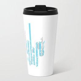 Stripe Scull Travel Mug