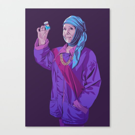 80/90s - Ol Canvas Print