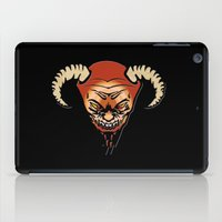 devil iPad Cases featuring Devil by LessaKs Art