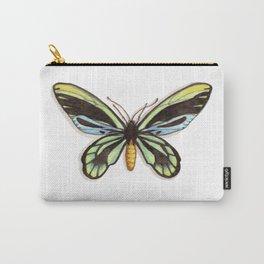 Butterflies: Queen Alexandra's Birdwing Carry-All Pouch