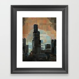 Sears at Sunrise Framed Art Print