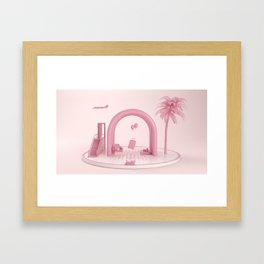 Holidays Framed Art Print