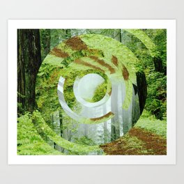 Forest Trips. Art Print