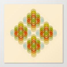 60's Pattern Canvas Print