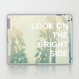 Look on the Bright Side Laptop & iPad Skin