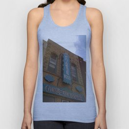 Other Chinese Tea Garden Pic Unisex Tank Top