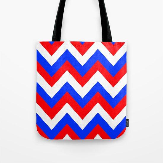 AMERICAN CHEVRON Tote Bag