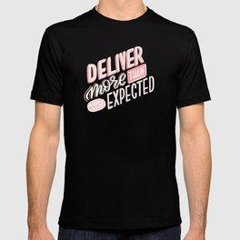 deliver more T-shirt