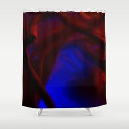 MACRO NEON TEA III Shower Curtain